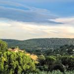 Uitzicht over Salernes (Var)